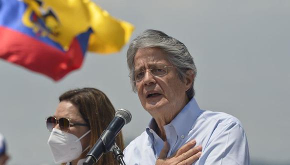 Elecciones Ecuador 2021: Guillermo Lasso, candidato presidencial del Movimiento CREO. (Foto: RODRIGO BUENDIA / AFP).