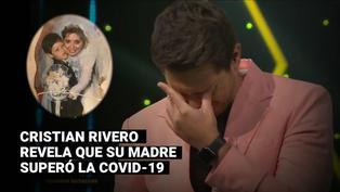 """""""Yo soy Perú"""": Cristian Rivero se quiebra al contar que su mamá superó la COVID-19"""