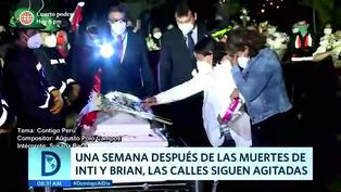 A una semana de las muertes de Inti y Bryan las calles siguen agitadas