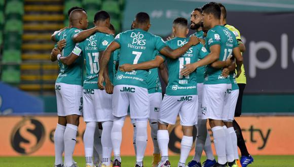 Deportivo Cali visita en Tunja a Boyacá Chicó y buscará mantenerse en los primeros lugares de la Liga Betplay 2021 | Foto: Deportivo Cali
