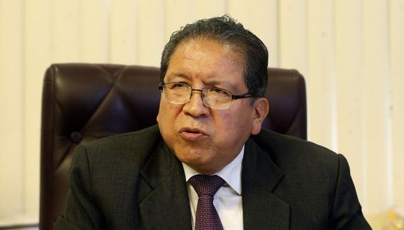 El magistrado Pablo Sánchez seguirá al frente de la Fiscalía de la Nación hasta el 20 de julio. (Foto: Rolly Reyna / El Comercio)