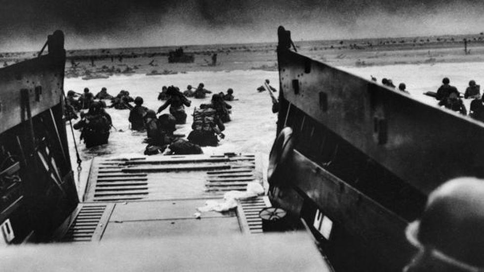 Los combates fueron particularmente cruentos en la playa bautizada como Omaha.