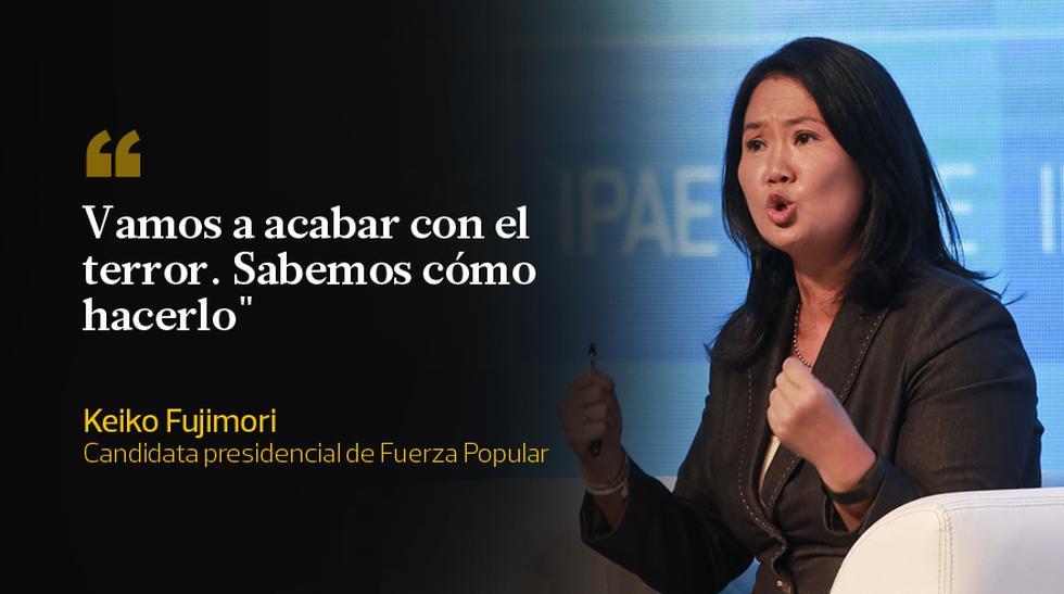 Keiko Fujimori y las frases que dejó en CADE 2015  - 2
