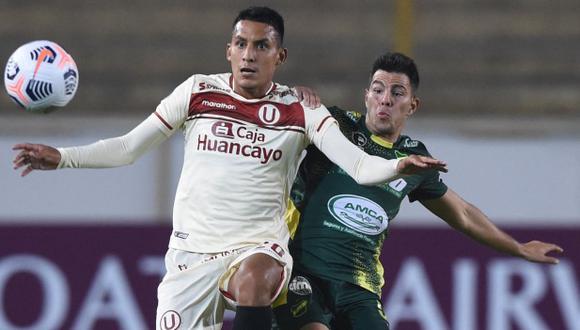 Alex Valera se refirió al empate de Universitario en la Copa Libertadores. (Foto: AFP)
