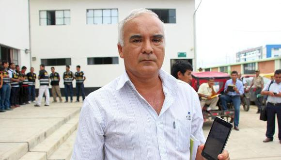 Tumbes: alcalde denuncia ser víctima de extorsionadores