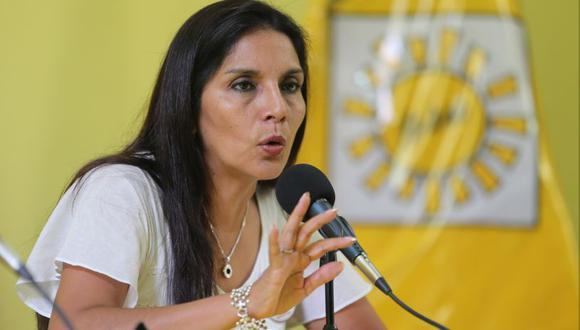 Patricia Juárez renunció en noviembre del 2018 a Solidaridad Nacional (Foto: Archivo El Comercio)
