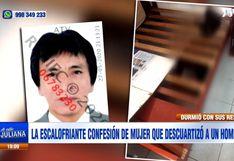 San Juan de Lurigancho: la confesión de la mujer que acuchilló y cercenó a un panadero