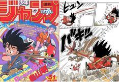 """Dragon Ball"": manga de Akira Toriyama cumple 35 años"