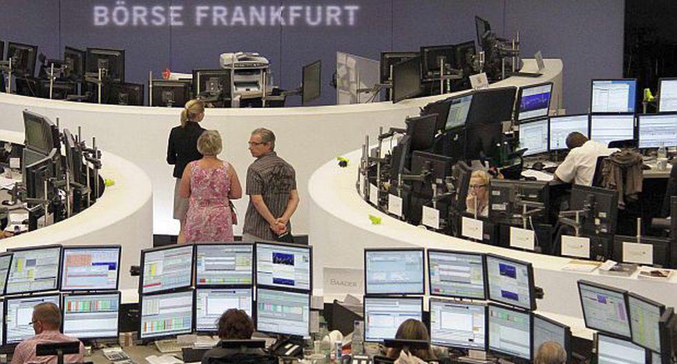 Bolsas europeas suben por posible cambio en la política del BCE