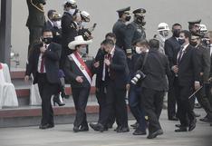 Pedro Castillo se retiró en medio del Desfile Cívico-Militar tras sismo en Piura