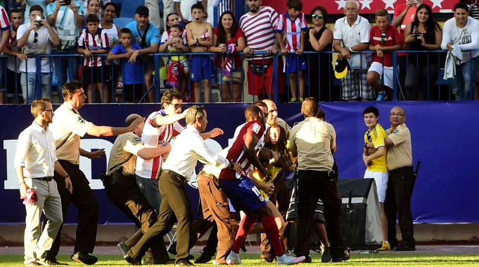 Jackson Martínez fue presentado en Atlético y esto pasó (VIDEO) - 1