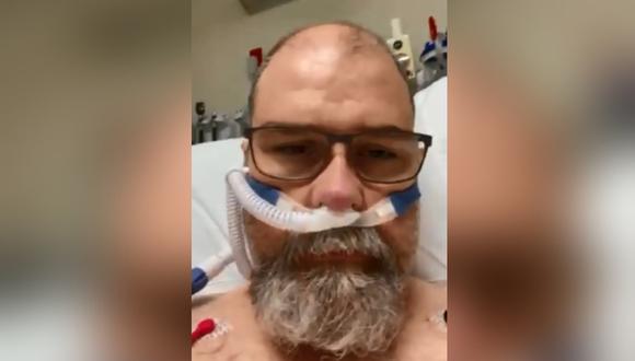 Se oponía al uso de mascarillas y ahora advierte a la gente sobre las consecuencias tras contagiarse de coronavirus. (Foto: @30ANerds / Twitter)