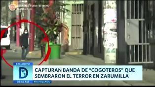 "Zarumilla: Capturan a banda de ""cogoteros"" que sembraron el terror"