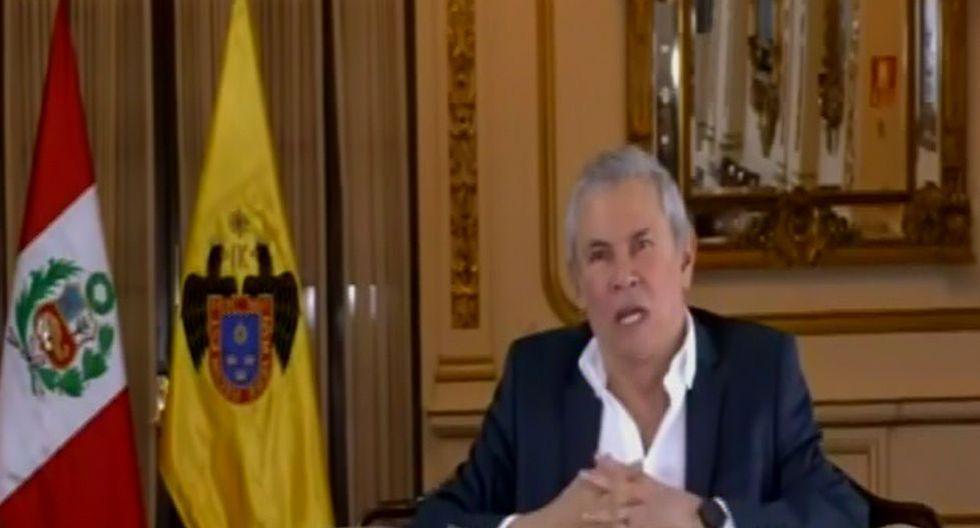 """Luis Castañeda ofreció """"disculpas por todas las molestias"""" en referencia a las obras ejecutadas en la Panamericana Sur. (Facebook)"""