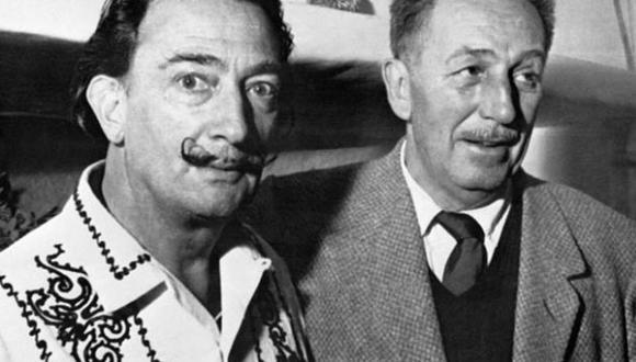 Exposición explora la amistad de Walt Disney y Salvador Dalí