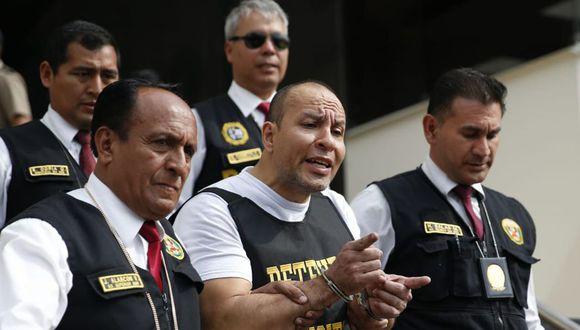 Adolfo Bazán fue capturado en diciembre del año pasado en el terminal Manuel A. Odria de la ciudad de Tacna. (Foto: GEC)