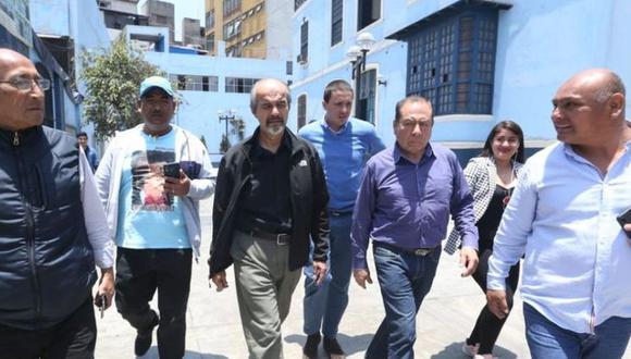 Mauricio Mulder y Mijael Garrido Lecca postulan como invitados por el Partido Aprista. (Foto: GEC)