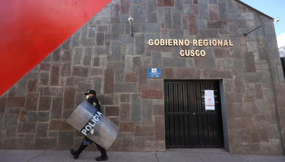 El gobernador regional Jean Paul Benavente dijo que ante las observaciones de la Contraloría aplicará medidas correctivas. (Foto: Melissa Valdivia)