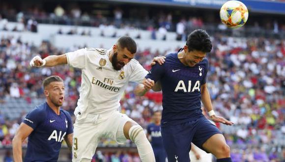Real Madrid vs. Tottenham EN VIVO vía ESPN: amistoso en el Múnich por la Audi Cup 2019. (Foto: AP)
