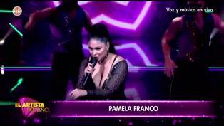 El Artista del Año: Pamela Franco envía sutil 'mensaje' a Christian Domínguez
