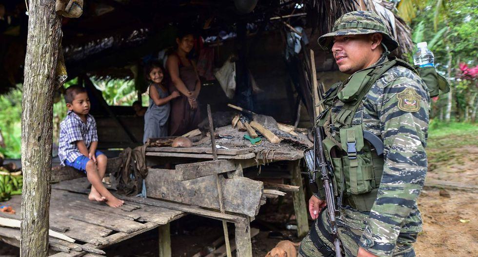 Desde la matanza a golpes y machetazos de los seis niños -de entre 1 y 17 años- y de la mujer embarazada, madre de cinco de esos menores, muchos indígenas se han agrupado para vivir juntos. (Foto: AFP)