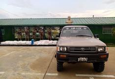 Junín: intervienen dos camionetas con 800 kilos de insumos para elaboración de droga