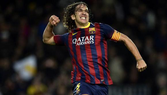 Carles Puyol, el legendario capitán azulgrana, cumple 42 años. (Foto: AFP/ Lluis Gene)