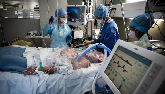 Coronavirus en Francia | Últimas noticias | Último minuto: reporte de infectados y muertos hoy, miércoles 14 de abril del 2021 | Covid-19 | (Foto: JEAN-PHILIPPE KSIAZEK / AFP).