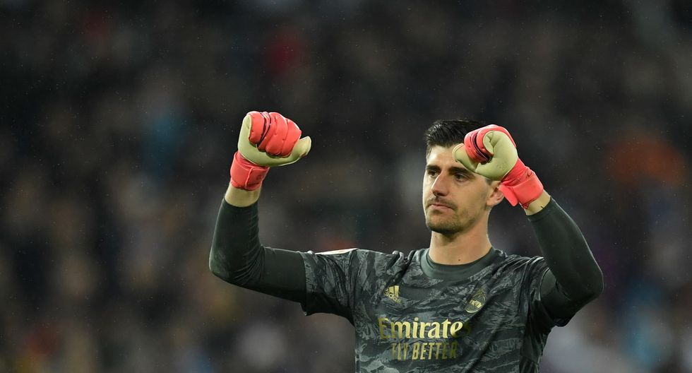 Thibaut Courtois (27 años, contrato hasta 2024). Titular indiscutible en Real Madrid y parece que así será por muchos años más. (Foto: AFP)