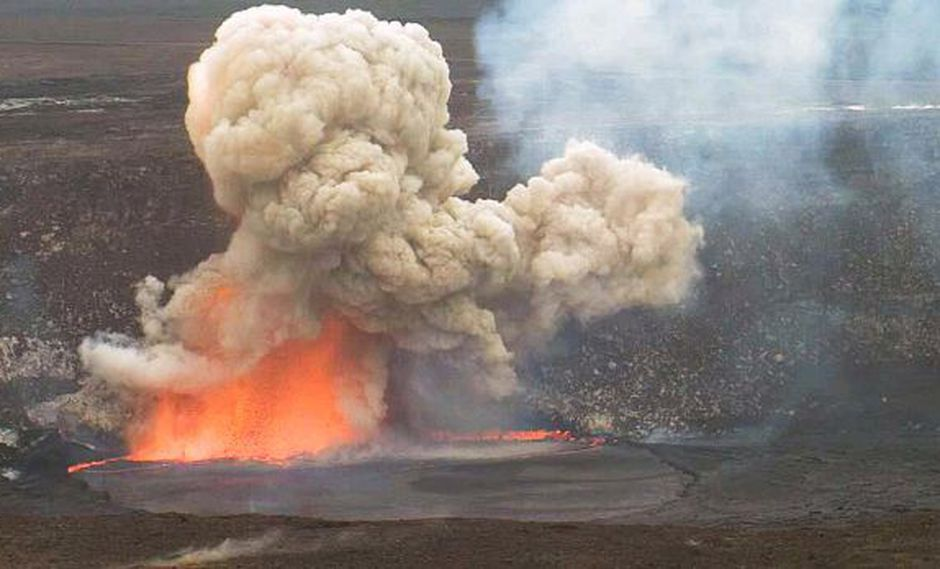 Hawai: Lago de lava en el volcán Kilauea alcanza altura récord