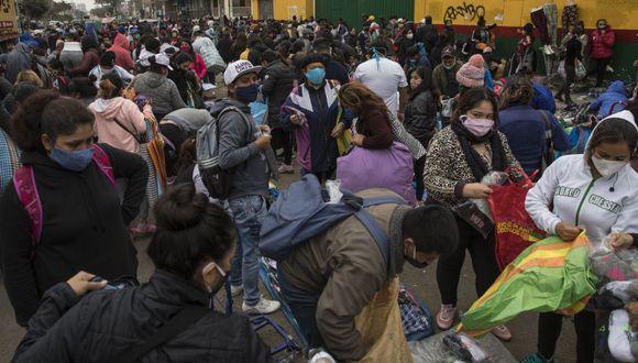 Perú entra a la lista de los cinco países con más contagios de Covid-19 en el mundo | Foto: AP /Rodrigo Abd