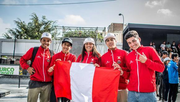 Este es el equipo nacional que conquistó las medallas en el Panamericano disputado en nuestra capital. (Foto: Federación de Patinaje).
