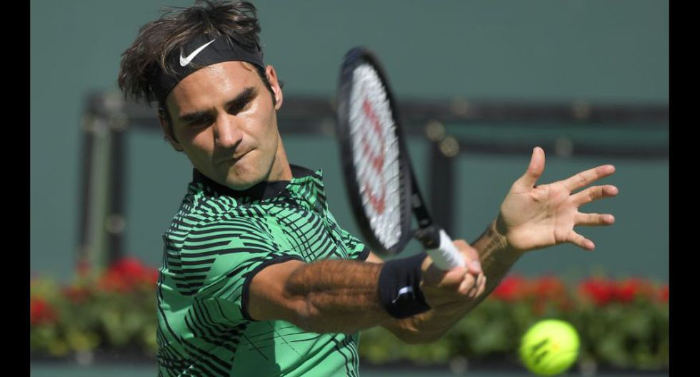 Federer se consagró otra vez en Indian Wells: fotos de la final - 6