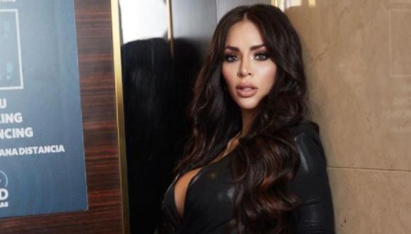 Durante una transmisión en vivo, la modelo peruana se animó a hablar de su nueva pareja, Sir Winston (Foto: Sheyla Rojas / Instagram)