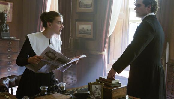 """Millie Bobby Brown and Henry Cavill regresan en la secuela de """"Enola Holmes"""". (Foto: Alex Bailey/Netflix vía AP)"""