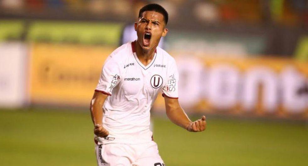 Anthony Osorio. Joven delantero de Universitario de Deportes. Tiene 21 años. Juega como '9'. Mide 1.83. El año pasado marcó seis goles con la 'U'. Esta temporada todavía no ha anotado.