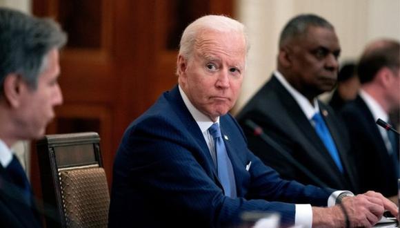 """El presidente de Estados Unidos, Joe Biden, ordenó a los servicios de inteligencia que """"redoblen"""" los esfuerzos para investigar los orígenes de la pandemia de covid-19. (FOTO: EPA)."""