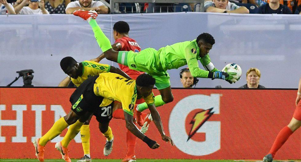 Estados Unidos vs. Jamaica. (Foto: AFP)