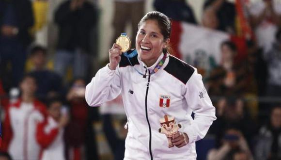 Alexandra Grande, oro en Lima 2019, competirá en karate femenino de Tokio 2020. (Foto: GEC)