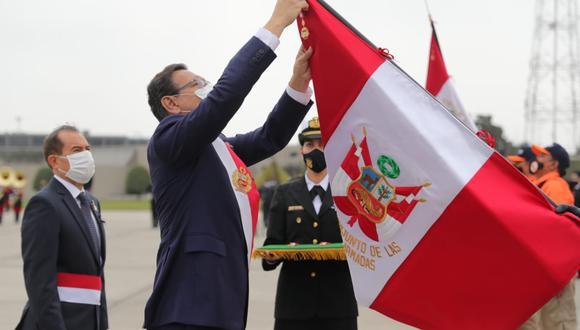 Presidente Martín Vizcarra reiteró su llamado a los partidos a alcanzar un Pacto Perú (Foto: Presidencia)