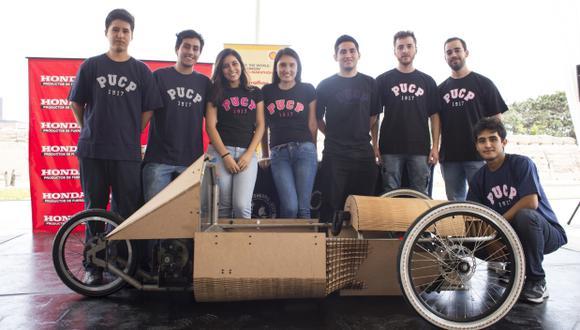 Estudiantes peruanos irán a concurso de autos sostenibles