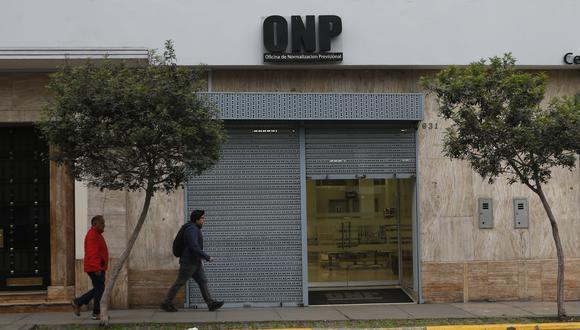 Poder Ejecutivo observó la norma que permite el retiro de fondos de la ONP (Foto: GEC)