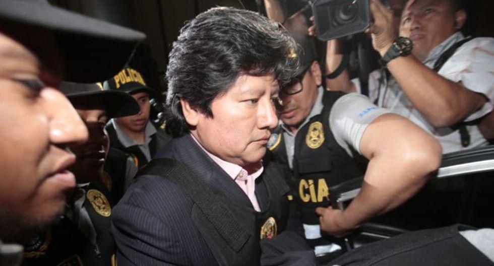 Mañana, a las 11:45 a.m., se evaluará en audiencia el pedido de cese de prisión preventiva presentado por la defensa de Edwin Oviedo. (Foto: GEC)