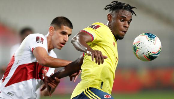 Mira aquí los canales y los horarios del partido Perú vs. Colombia por la Copa América 2021 | Foto: EFE