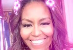 Snapchat tiene un nuevo usuario: Michelle Obama