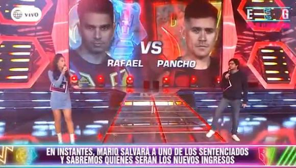 """Jazmín Pinedo y Gian Piero Díaz protagonizaron acalorada discusión en vivo en """"Esto es Guerra"""". (Foto: Captura de video)"""