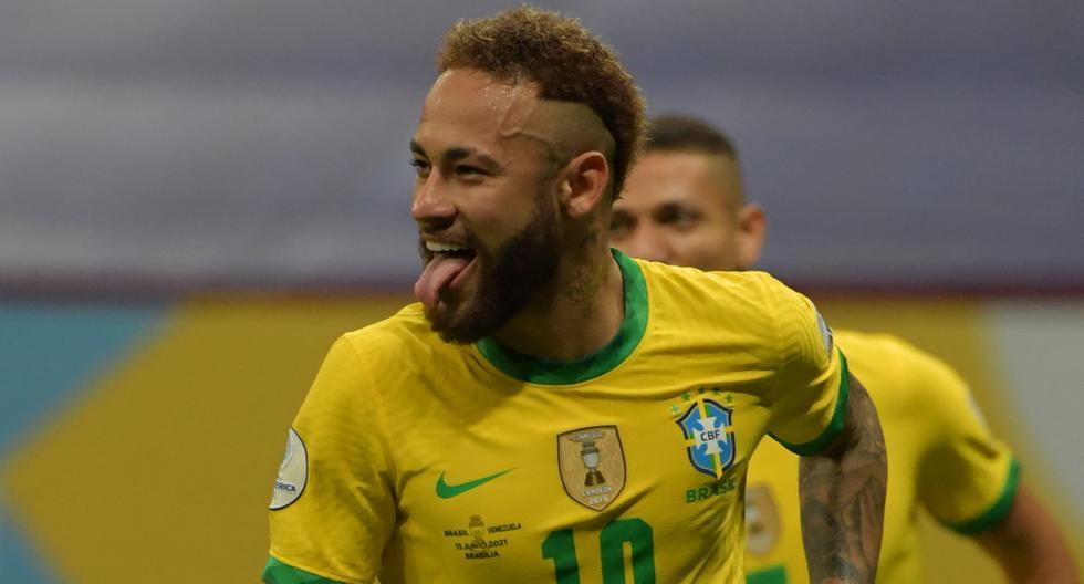 La selección de Brasil, el anfitrión, ganó 3-0 a Venezuela y arranca como líder de la Zona B. | Foto: AFP