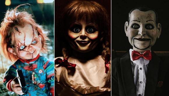 """""""Annabelle"""" y otros inquietantes muñecos diabólicos del cine. (Fotos: Difusión)"""