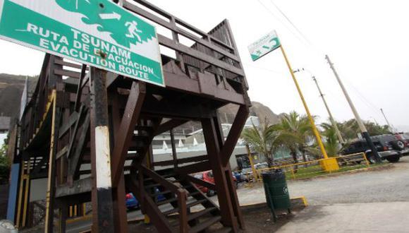 Distritos costeros de Lima definen hoy protocolo ante tsunamis