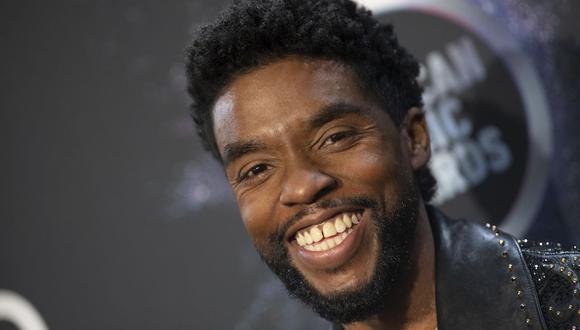 El actor Chadwick Boseman no hizo alguna referencia directa sobre el cáncer de colon que le fue diagnosticado en el 2016. (Foto: Valerie Macon / AFP).